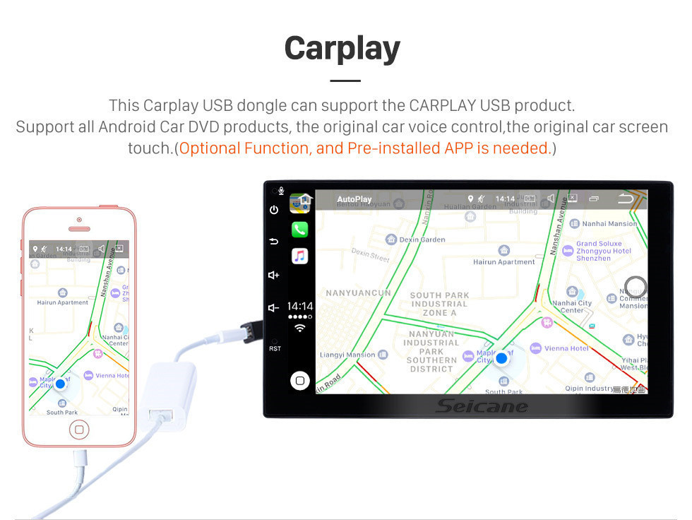 Harfey 2Din 9 inch Android 8.1 GPS Navi for Universal Car Multimedia Player HD 1024*600 Support Mirror Link SWC DVR Rear camera 8