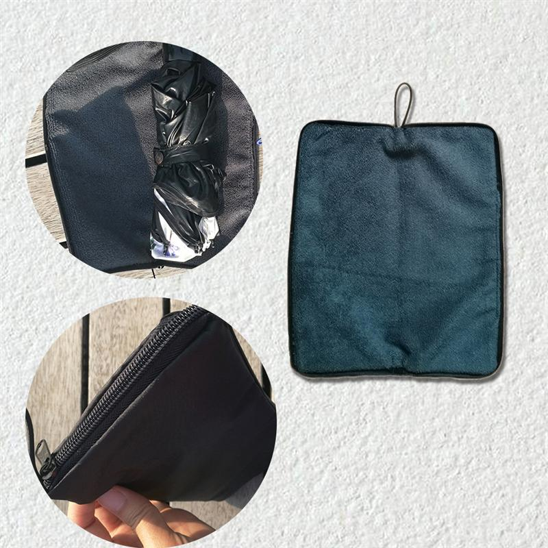 Folding Umbrella Bag Case Waterproof Water-Absorbent Storage Cover Case Pouch UK