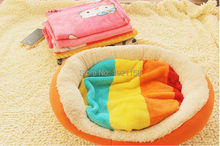 Cute Warm Pet Small Medium Towl Multicolor Print Cat Dog Fleece Soft Blanket Beds Mat Puppy Winter Pet Supplies