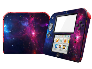 Image 3 - Natural Amazing Star Sky Vinyl Skin Sticker Protector for Nintend 2DS Stickers Decals