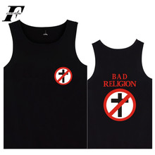 LUCKYFRIDAYF Bad Religion Hip Pop Vest Hot Music Fashion Print Summer Sleeveless Shirt Oversized 4XL Casual Cool Cotton Tank Top