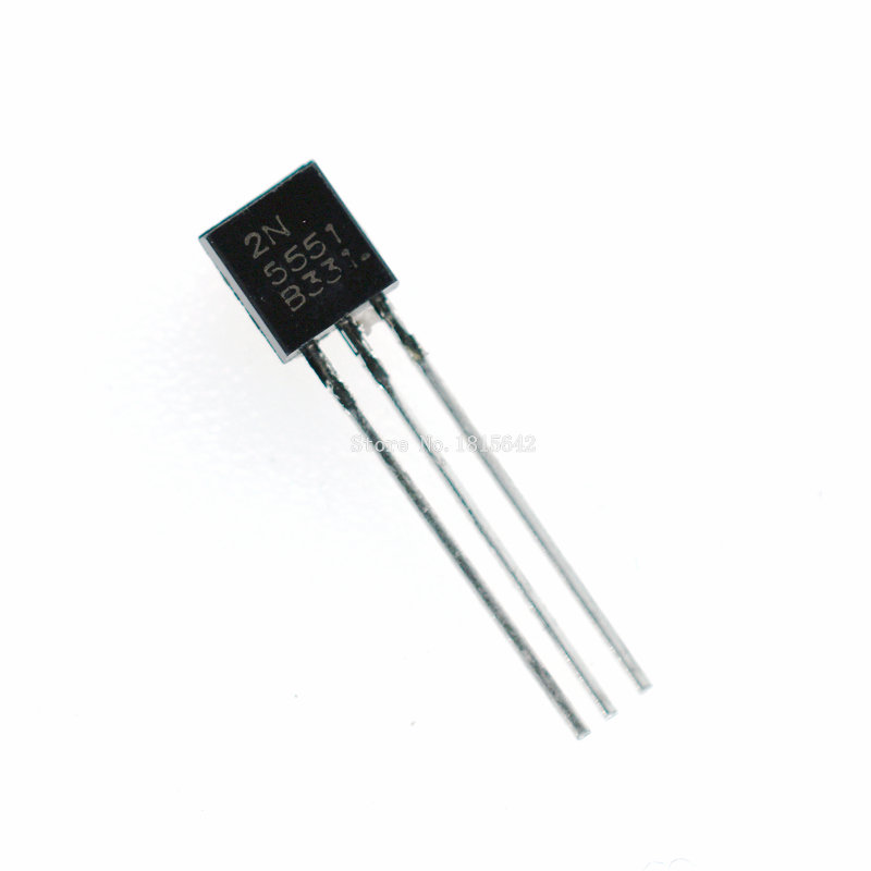 100PCS/LOT New Triode Transistor 2N5551 5551 TO-92 0.6A 160V NPN