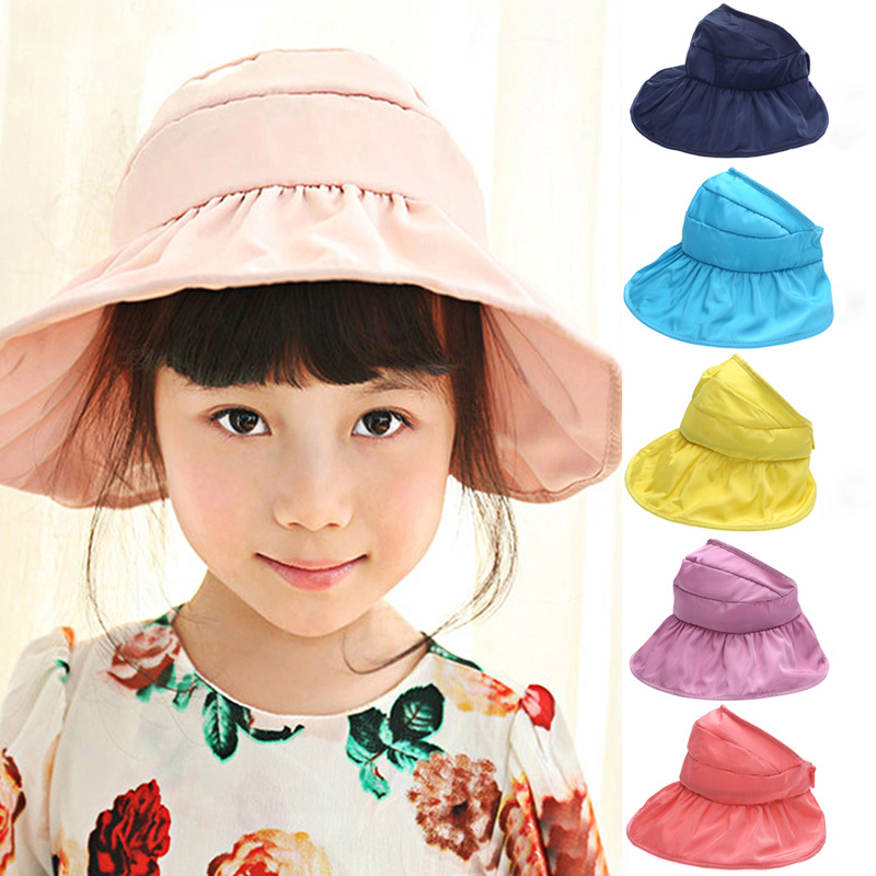 2017 Spring Autumn Kids Baby Love Hat Folding Waterproof Colorful Sun Hat Baby Outdoor Fisherman Hat Beach Hat One Size For 1-4Y
