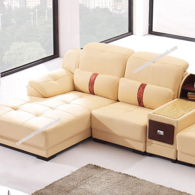 2014 New Dubai Furniture Sectional Luxury And Modern Corner Leather Living  Room Arab L Shaped Sofa Design And Prices Set