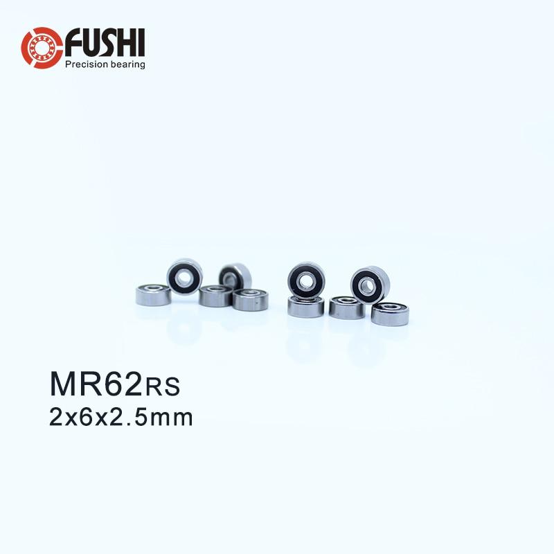 Metal Rubber Sealed Ball Bearings MR83RS 3*8*3 3x8x3 mm MR83-2RS 10 PCS