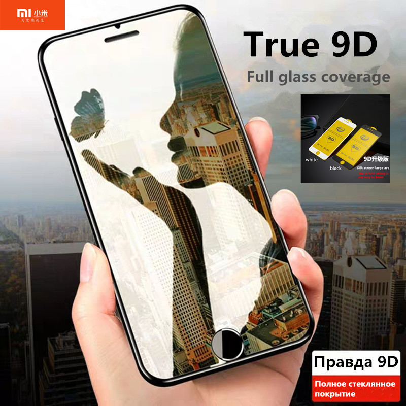 Xiaomi Protective-Glass Screen-Protector A2 Lite Mi-9 Full-Cover 5X Film. 6X for Mi-9/8/Se/..