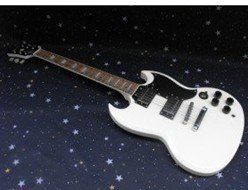2015 Free shipping Sg Custom 3 Pickups VOS Electric Guitar White Color
