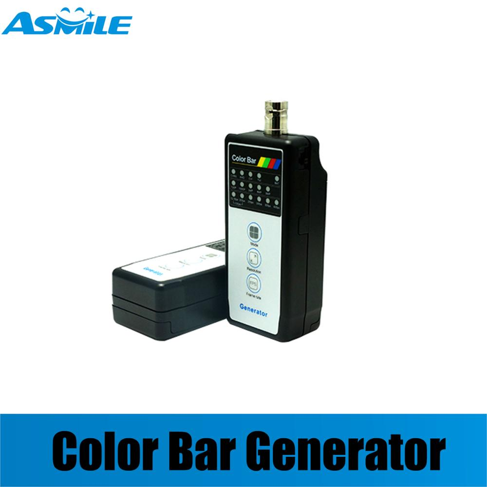 HD Coaxial Color Bar Pattern Generator Support Up To AHD 5MP, TVI 5MP, CVI 4MP Test With VT-4800