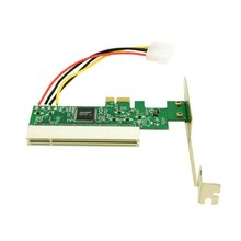 Cablecc PCI-Express PCIE PCI-E X1 X4 X8 X16 To PCI Bus Riser Card Adapter Converter with Bracket for Windows pci express pci e to pci bus riser card high efficiency adapter converter z09 drop ship