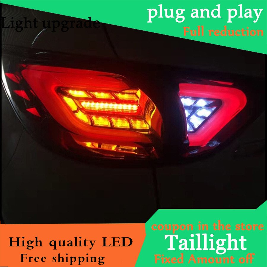 Car Styling TailLight Case For Mazda CX 5 2013 2014 2015 Taillights Full LED Tail Lamp