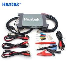Hantek Osciloscopio automotriz de mano 6204BE, 4 canales, 200Mhz, portátil, USB, PC, diagnóstico de Osciloscopio