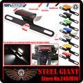 Motocycle Accessories LED License Plate Led Light For KAWASAKI Z250 Z300 Z750 Z1000 Z1000SX