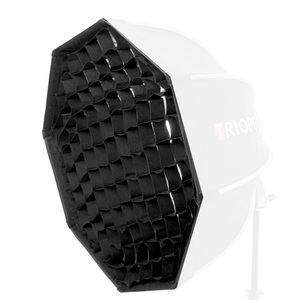 Image 5 - TRIOPO 55cm 65cm 90cm מתקפל אוקטגון Softbox סוגר/Bowns הר רך תיבת ידית עבור Godox Yongnuo speedlite פלאש אור