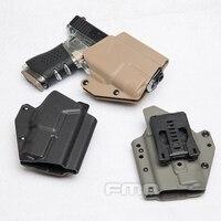 Military Tactical Belt Holster Light Bearing Paddle Belt Holster for Glock 17s
