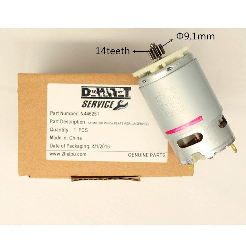 цена на Motor for DeWALT 10.8V 12V DCD700 DCD701 DCD710 DCD710S2 DCD700CK2 N075847 N446251 N432948 N038034 DCD710C2 DCD710DV DCD710D2