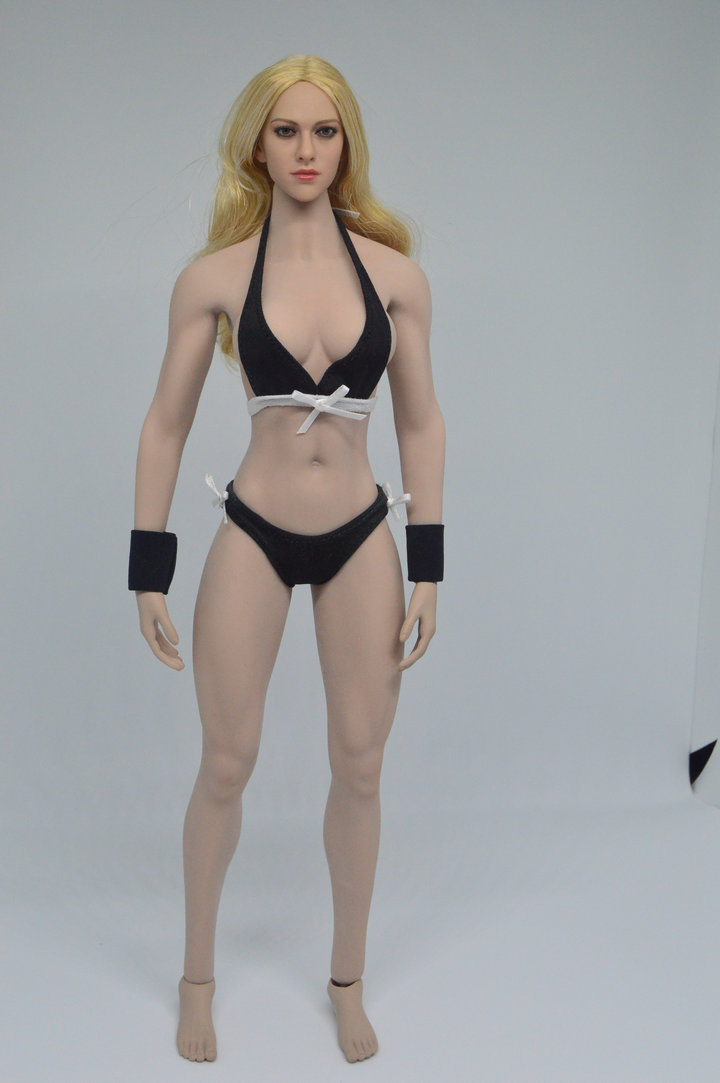 1 6 Scale Female Head Sculpt and body Fit For 12 HT Phicen Figure Body Toys