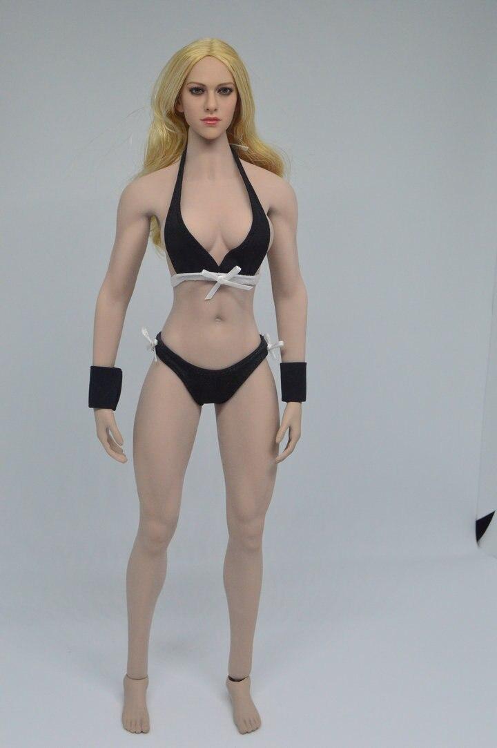 """1/6 Scala Femminile Testa Sculpt e corpo in Forma Per 12 """"HT Phicen Corpo Figura Giocattoli-in Action figure e personaggi giocattolo da Giocattoli e hobby su  Gruppo 1"""