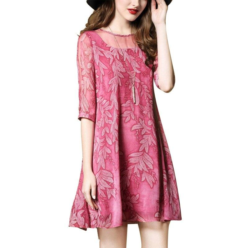 Compra chic mujer vestido suelto online al por mayor de China ...