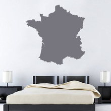France map Globe Earth Country wall vinyl sticker custom made home decoration fashion design