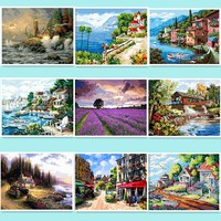 Painting By Numbers Wall Decor Diy Picture Oil Painting On Canvas For Home Decor 50 65