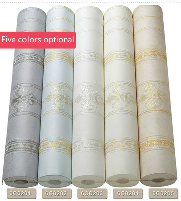 Custom Optional wall decor multiple combination thick round net precision Genuine environmentally friendly non woven wallpaper in Wallpapers from Home Improvement