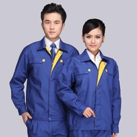10 sets Long Sleeve Workwear Suit Men/Women Working Cloth Wear resistant Security Overalls For Repairman Machine Auto Repair