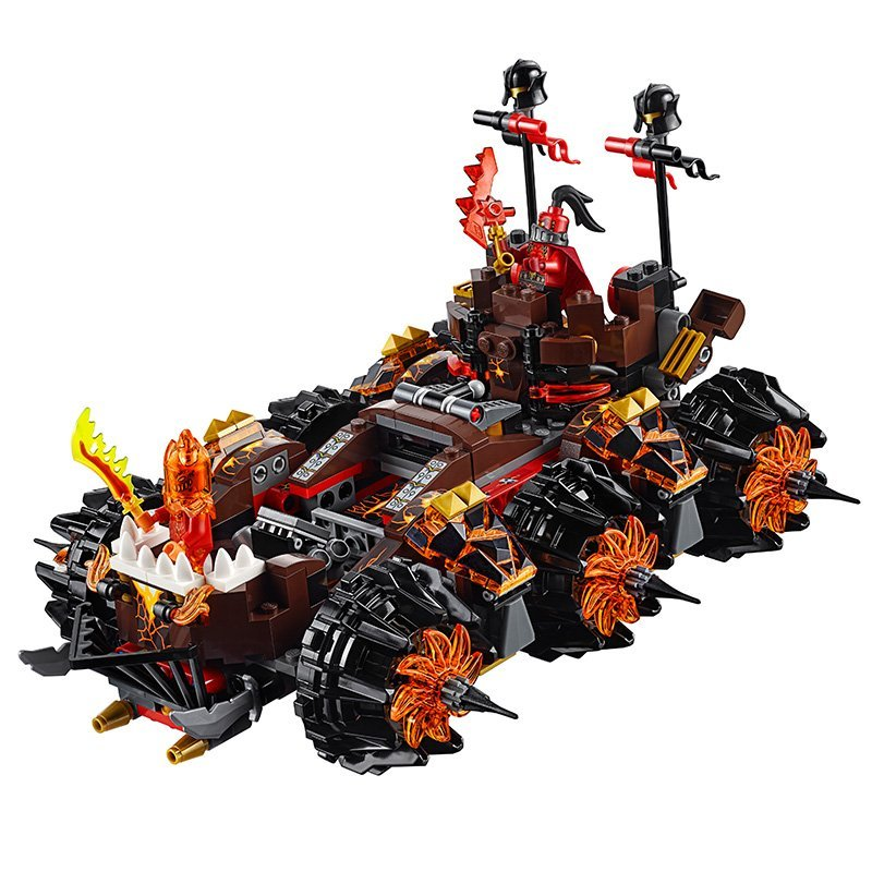 LEPIN Nexo Knights Axl General Magmars Siege Machine of Doom Figure Blocks Building Bricks Toys For Children Compatible Legoe lepin 06037 compatible lepin ninjagoes minifigures the lighthouse siege 70594 building bricks ninja figure toys for children