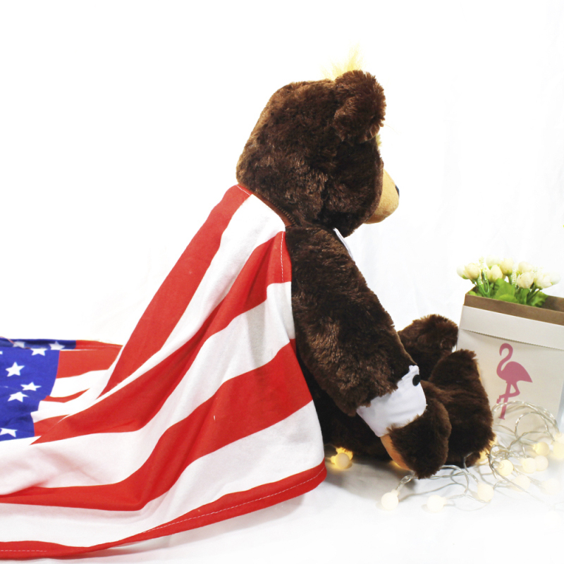 Donald Trump Bear Plush Toys New Cool USA Campaign Limited Edition Trumpy TOYS