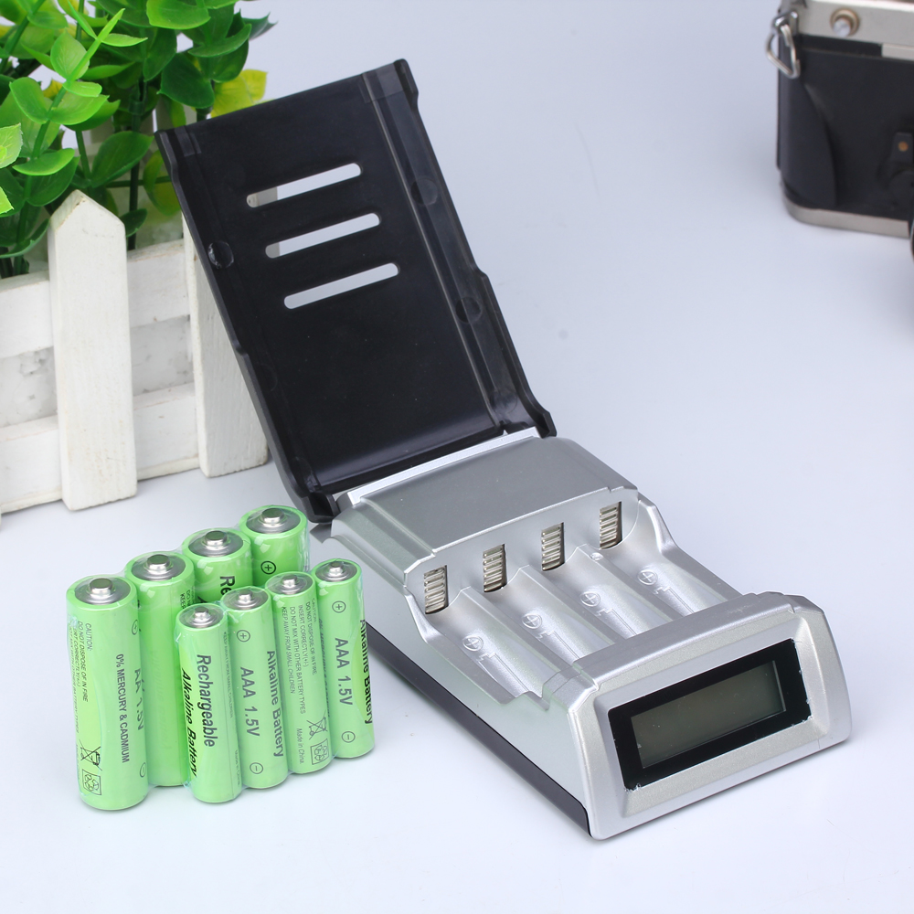 rechargeable alkaline battery picture more detailed picture about 8pcs lot 1 5v aa. Black Bedroom Furniture Sets. Home Design Ideas