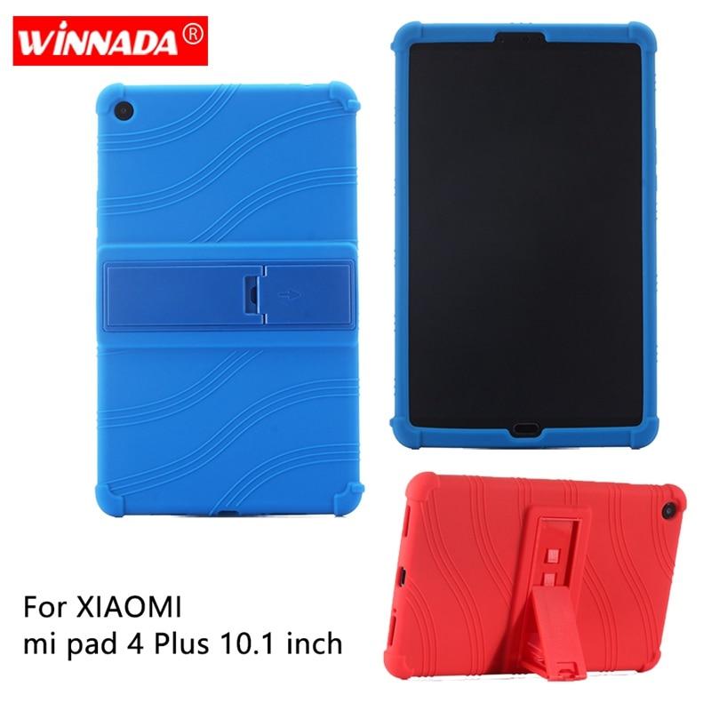 """Funda de silicona para xiaomi mi pad 4 PLUS 10,1 pulgadas funda protectora suave de goma para tablet funda para xiaomi mi pad 4 más de 10"""""""