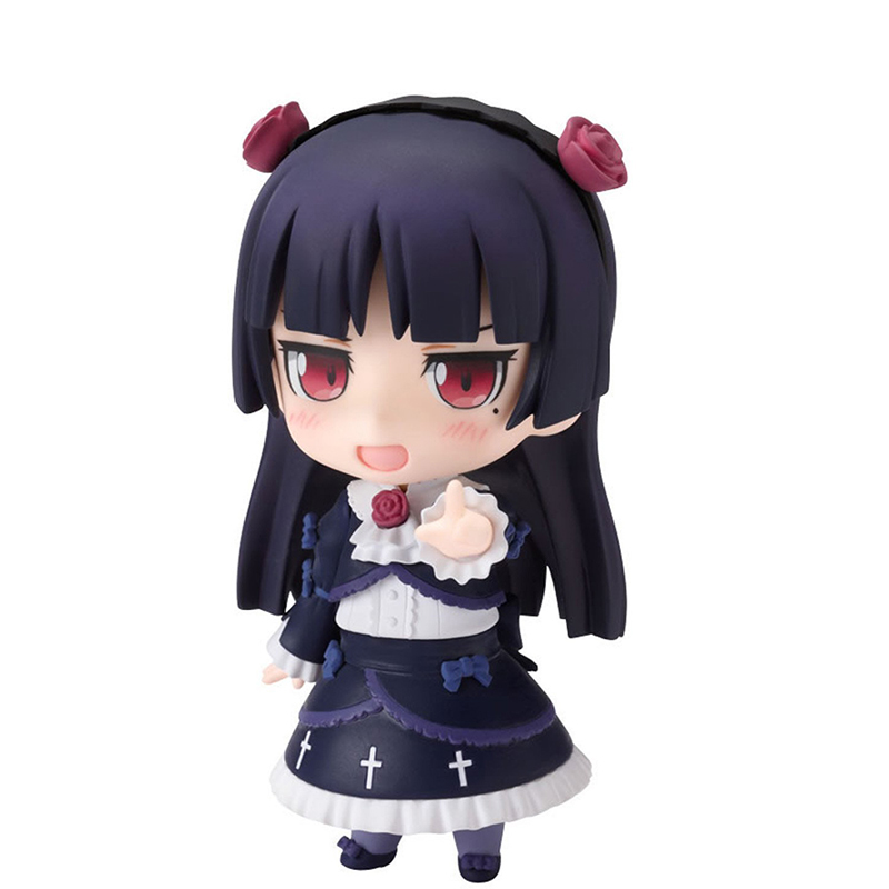 Anime Cute Nendoroid My Little Sister Can't Be This Cute Gokou Ruri #144 PVC Action Figure Collectible Model Toy 10CM KT375 anime konosuba god s blessing on this wonderful world aqua 630 nendoroid doll pvc action figure collectible model toys
