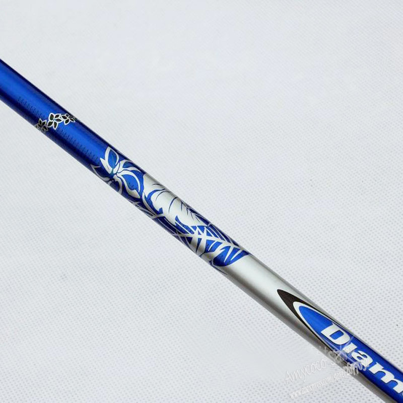 New Mens Golf Shaft Diamana 60 Golf Wood Shaft 8pcs/lot Graphite Clubs Golf Driver Shaft  R Or S Flex  Free Shipping