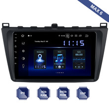 Android 9,0 Radio de coche 2 Din GPS Navi para Mazda 6 2008-2014 Mazda6 PX6 DSP IPS 4Gb + 64Gb 6-Core RDS WIFI carplay Bose(China)