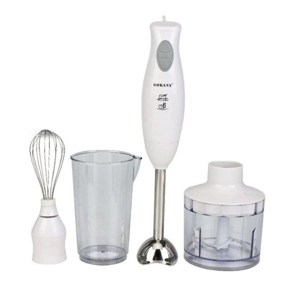 Multifunctional Stainless Steel Hand Blender 200W High Power Electric Meat Mixer Egg Beater Food Cooking ToolsMultifunctional Stainless Steel Hand Blender 200W High Power Electric Meat Mixer Egg Beater Food Cooking Tools