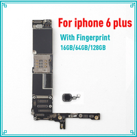 16gb 64gb 128gb for iphone 6 plus motherboard with Black Touch ID Full unlocked for iphone 6 plus 5.5inch logic boards