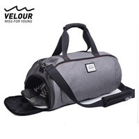 Outdoor Waterproof Sports Gym Bag For Women Men Fitness Yoga Short Travel Luggage Bags Shoulder Tote