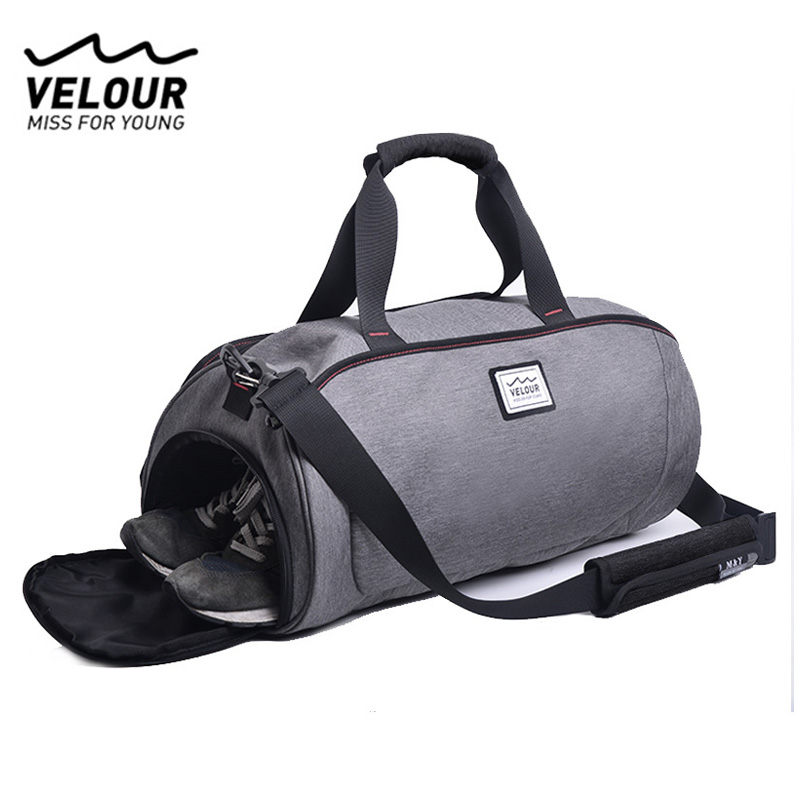 Waterproof Sports Gym Bag Women Men Bag Fitness Yoga Mat Tas For Training Men Gymtas Sac De Sport Traveling Handbags XA584YL