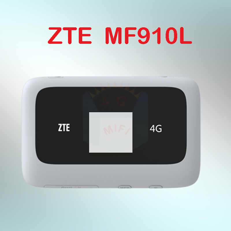 ZTE MF910 Wifi Router mini 3G 4G Lte Draadloze Draagbare Pocket wi-fi Mobiele Met Sim card slot MF910L 3g 4g router sim card slot