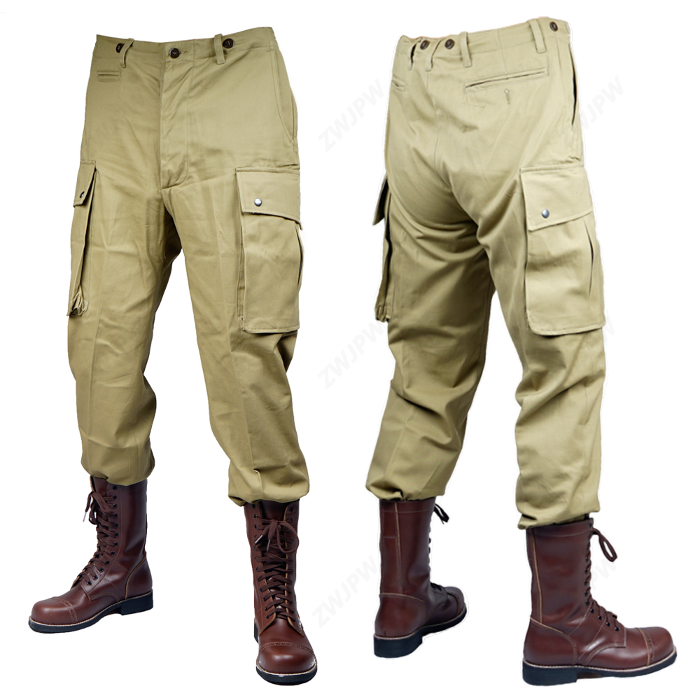 WW2 Vietnam War U.S. TCU PANTS Paratrooper Uniform Three Generations Of War Reenactments