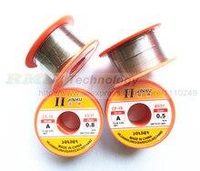 Essential 1 pcs 0.5mm 0.8mm Tin Lead Melt Rosin Core Flux Solder Soldering Welding Wire Reel free shipping