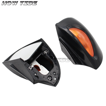 For BMW R850RT R1100RT R1150RT RT850 RT1100 RT1150 Motorcycle Accessories Signal Lens Rearview Glass Side Mount Mirrors image