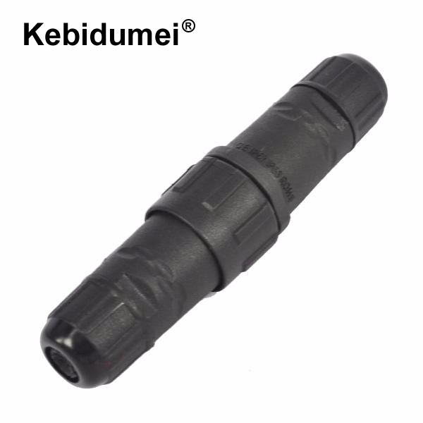 Fashion Style Kebidu New M14 7 Pin 7 Pole Industrial Ip68 Waterproof Connector Cable 7pin Panel Mount Wire Connector Adapter Plug For Led Lamp Computer & Office