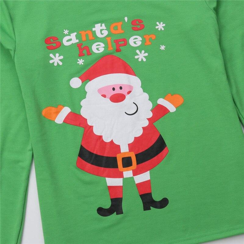 ... Family Matching Christmas Clothes Dad Mom Kids Pajamas Set Women Men  Baby Sleepwear Printing Santa Nightwear ... 3e36df8f9