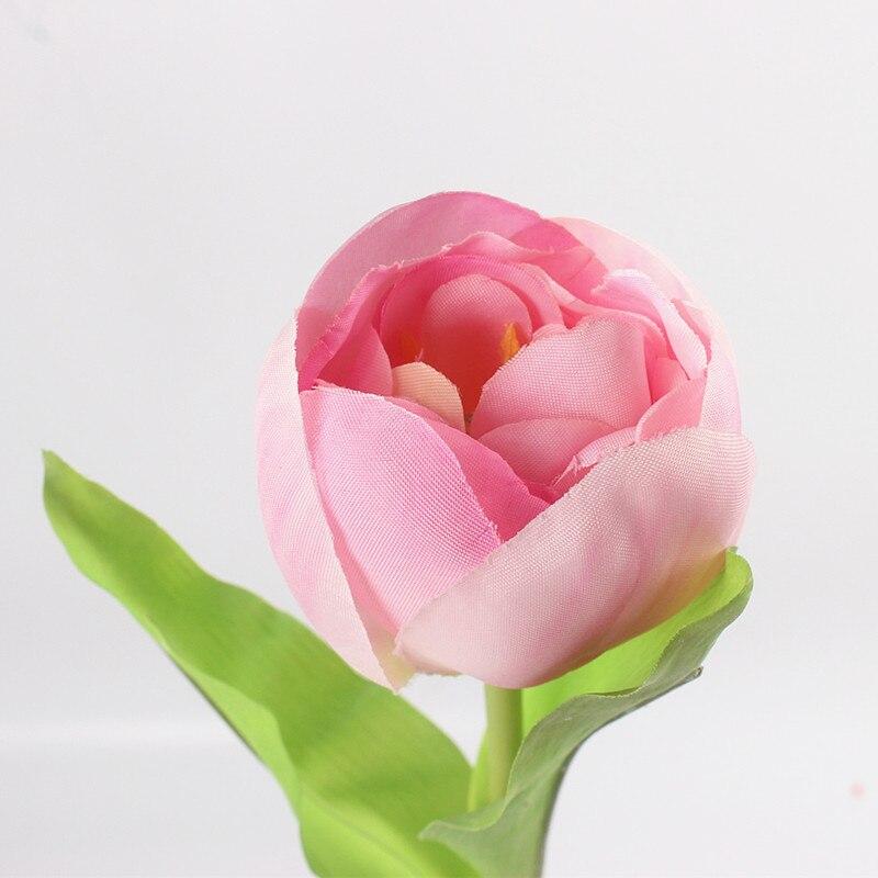 JAROWN Dirbtinis Tulpė Gėlių Šilko Gėlės Fake spalvinga - Šventės ir vakarėliai - Nuotrauka 5