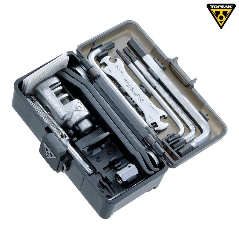 Topeak TT2543 boîte de vitesse de survie vélo Multi réparation outil ensemble vélo Portable outil route vélo clé Kits Bicicleta vtt outils