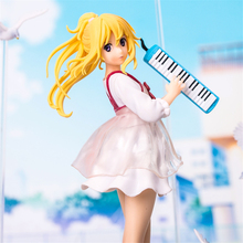 Haocaitoy Figure Toys Miyazono Kaori PULCHRA 4th Your Lie in April Anime Action Figures Dolls PVC Model Toys collection 21cm все цены