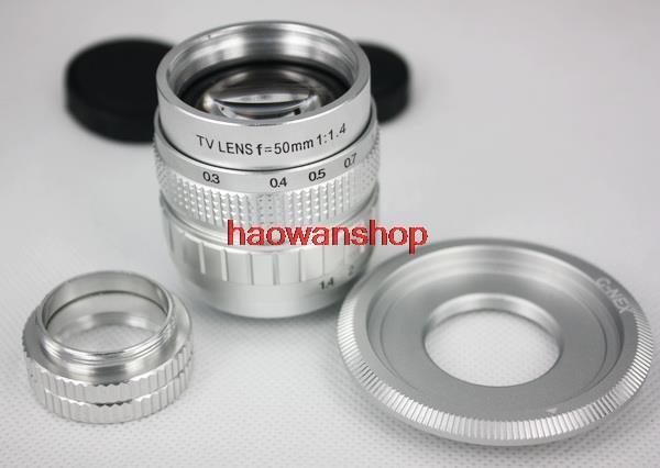 50mm F1.4 CCTV TV Movie Lens c mount for sony nex NEX6 NEX-5 NEX-F3 NEX-5N NEX-7 l22 protective nylon carrying bag for sony nex 7n ne 5n nex f3 black blue