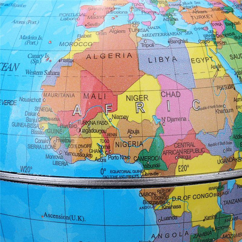 360 Degree World Map.Kiwarm 360 Degree Rotating Globes Earth Ocean Globe World Geography