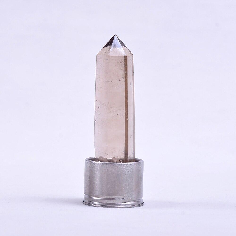 Gros nouveaux produits naturel Quartz Rose cristal Point gravier verre pierre énergie tasse Rose cristal gravier bouteille cadeau de guérison