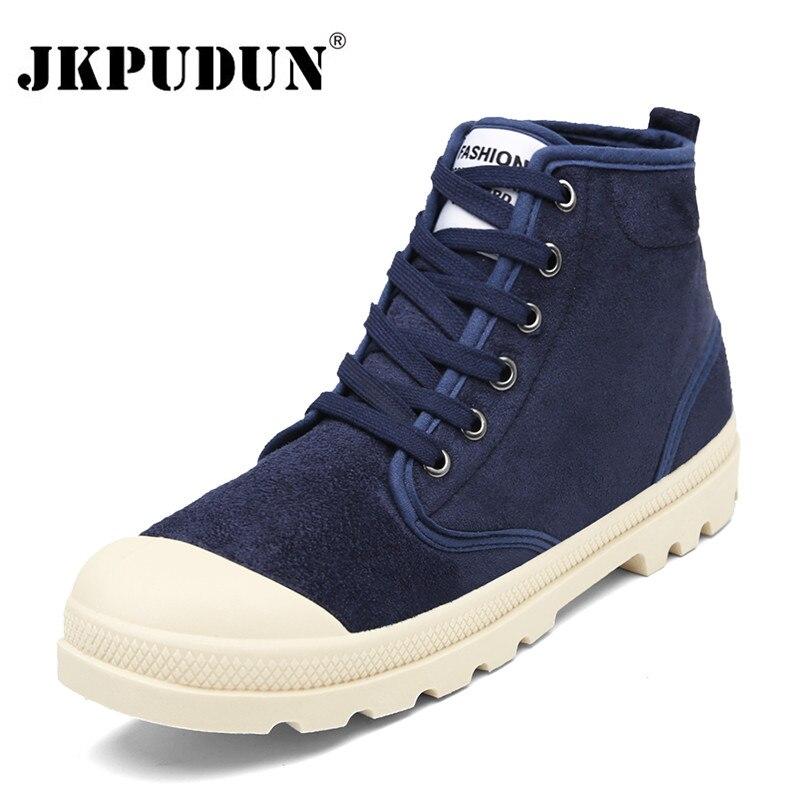 Men/'s Casual Toile Lacets Militaire Armée Combat Bottines High Top shoes